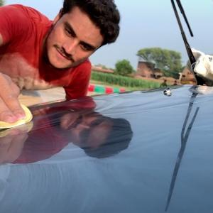 How to Car detailing at home  restoration and polishing   Easy way to Deep clean your car at home