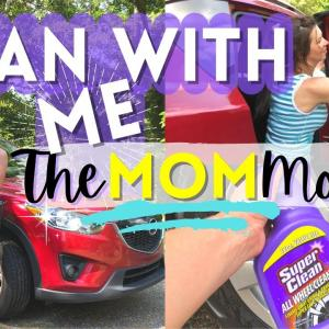🧽 EXTREME CLEAN WITH ME / Car cleaning motivation / Speed clean with me / Super Clean Wheel Cleaner