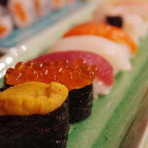 久々の寿司