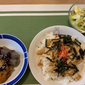 7月15日の晩ごはん – 簡単ちらし寿司