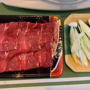 8月1日の晩ごはん – 北海道産和牛の肩ロースで焼肉
