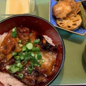8月13日の晩ごはん – 豚丼