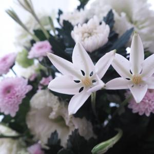 お盆 お供えのお花