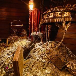 ついに来た!上海ディズニーランド!~海賊船内&ジョニー・デップ?!~