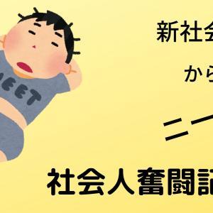 社会人奮闘記① 初就職編(9か月で辞めました)