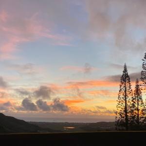 カイルアの美しい朝