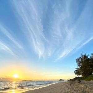 カイルアビーチのサンライズ