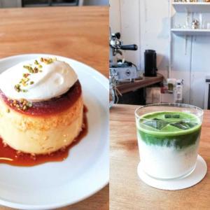 9月3日オープン 抹茶ラテ de ぷるぷるプリン 【box. SALON and CAFE】