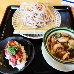 高槻ランチ 鴨せいろと鴨とろ寿司セット 【合鴨専門店 香春 KAWARA】