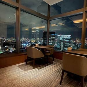 【宿泊ブログ】ストリングスホテル東京インターコンチネンタルのクラブラウンジ体験記|コロナ対策下