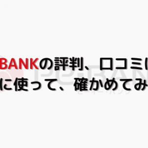 【年収847万円】PE-BANK評判、口コミは?実際に使って、確かめてみた!