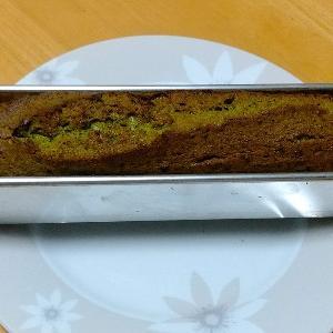 あのパウンドケーキ型で抹茶パウンドケーキを作ってみました