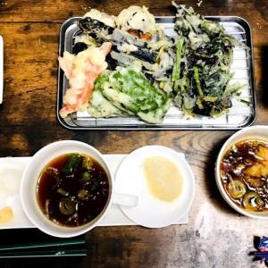金時草と秋茄子の天ぷら