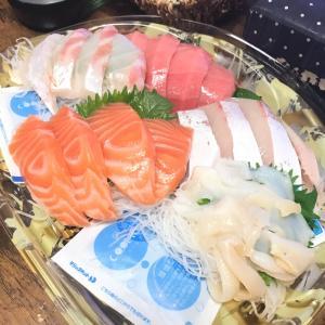 魚ー魚ーさかなー魚を食べるとー晩酌