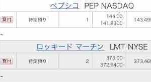 《LMT》ロッキードマーチンを10万円分購入しました。