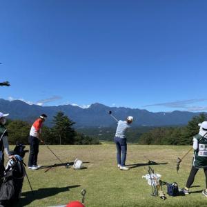 日本シニアオープンゴルフ観戦。