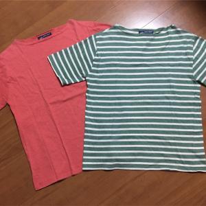 SAINT JAMES , ORCIVAL のボーダーシャツ