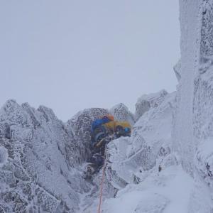 [アルパイン]厳冬期八ヶ岳・赤岳主稜登攀