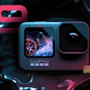 【GoPro HERO9登場】5K30fps撮影可能でフロントディスプレイ搭載のVlog仕様!