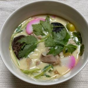 【大阪】ばち麺で作るうどん入り茶碗蒸し「おだまき蒸し」