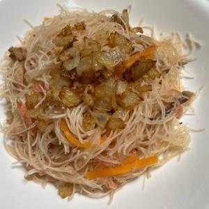 【台湾】新竹米粉でつくるあっさり焼きビーフン(炒米粉)