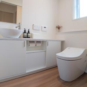 ただただ、シンプルなトイレ