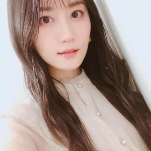 小倉唯ちゃん❤️公式Instagram☆最近はまってる #外巻き アレンジ♪