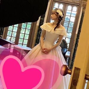 小倉唯ちゃん❤️本人ツイート☆花嫁さんショットチラ見せ