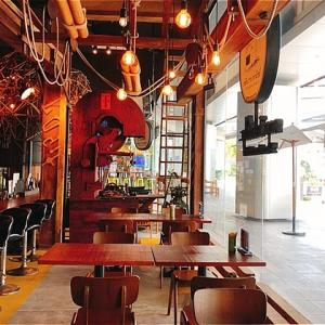 レトロなカフェ「Plearnwan Panich(プラーンワンパニット)」でランチ@プンナウィティ
