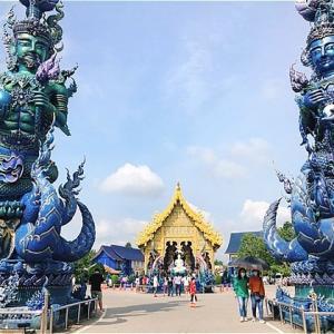 「白い寺」と「青い寺」【チェンライ旅行⑥】