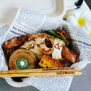 エリンギさん兄弟焼きそば弁当♪&北海道グルメ海水で食べる絶品帆立!!!!!