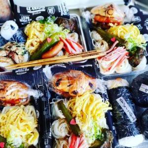 スヌーピーサンド&スヌーピーおにぎり&麺弁当♪