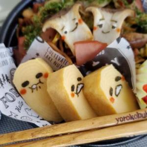 ぐでたま焼きそば弁当☆&札幌グルメ~いいんですかぁ?(歓喜( *´艸`))