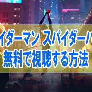 映画【スパイダーマン スパイダーバース】を無料でフル動画視聴する方法はU-NEXT一択!