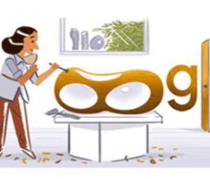 バーバラ・ヘップワースにGoogleロゴ変更【イギリスの彫刻家】