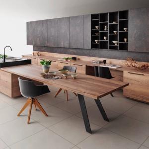 キッチンハウス②すみりんコラボのダイニングテーブルが素敵!!
