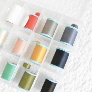 ミシン糸、150円で上糸・下糸を綺麗に収納する方法🌟