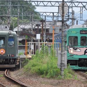 近鉄と東急の並び