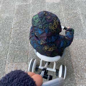 初めてのくら寿司&極寒の散歩
