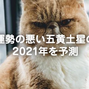 運勢の悪い五黄土星の2021年を予測