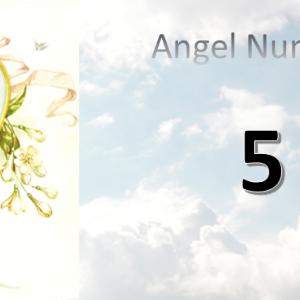 【5】のエンジェルナンバーの意味(総体運・恋愛・ツインレイ)