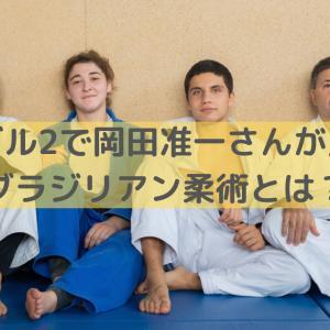 ファブル2で岡田准一さんが見せたブラジリアン柔術とは?