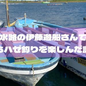 江戸川放水路の伊藤遊船さんでボートからハゼ釣りを楽しんだ話
