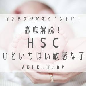 HSC【ひといちばい敏感な子】徹底解説!子どもを理解するヒントに!