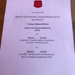 フロイデンブルグのレストラン
