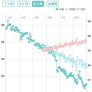 食べるダイエット・やせ過ぎといわれるようになった!2020年8月分報告 20カ月目