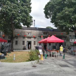 ローカルな街のオアシスのような歴史的建造物カフェ・石屋珈琲冰室