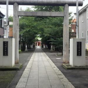 初めての御朱印-産土神(うぶすながみ)参拝-池袋氷川神社