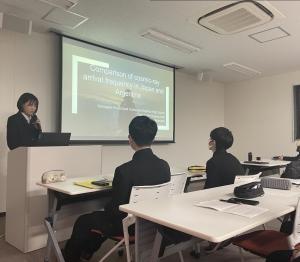 英語での講義