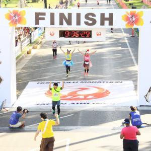 ホノルルマラソン2013 [ FINISH後 ]